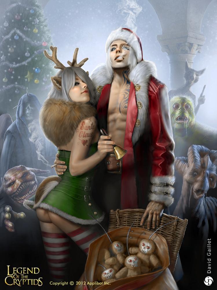 Santa Claus - 1 by DavidGaillet