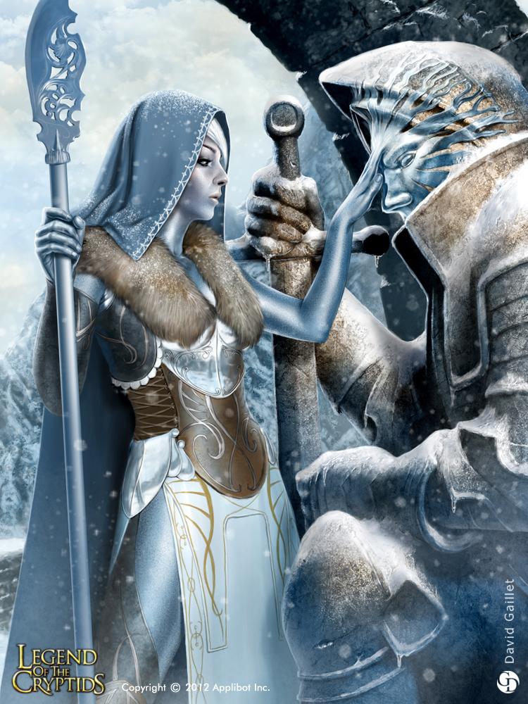 Silver Queen - 1 by DavidGaillet