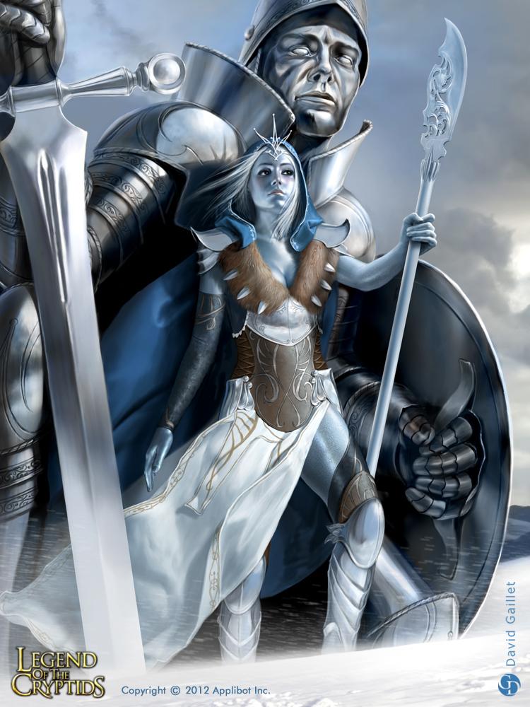 Silver Queen - 2 by DavidGaillet