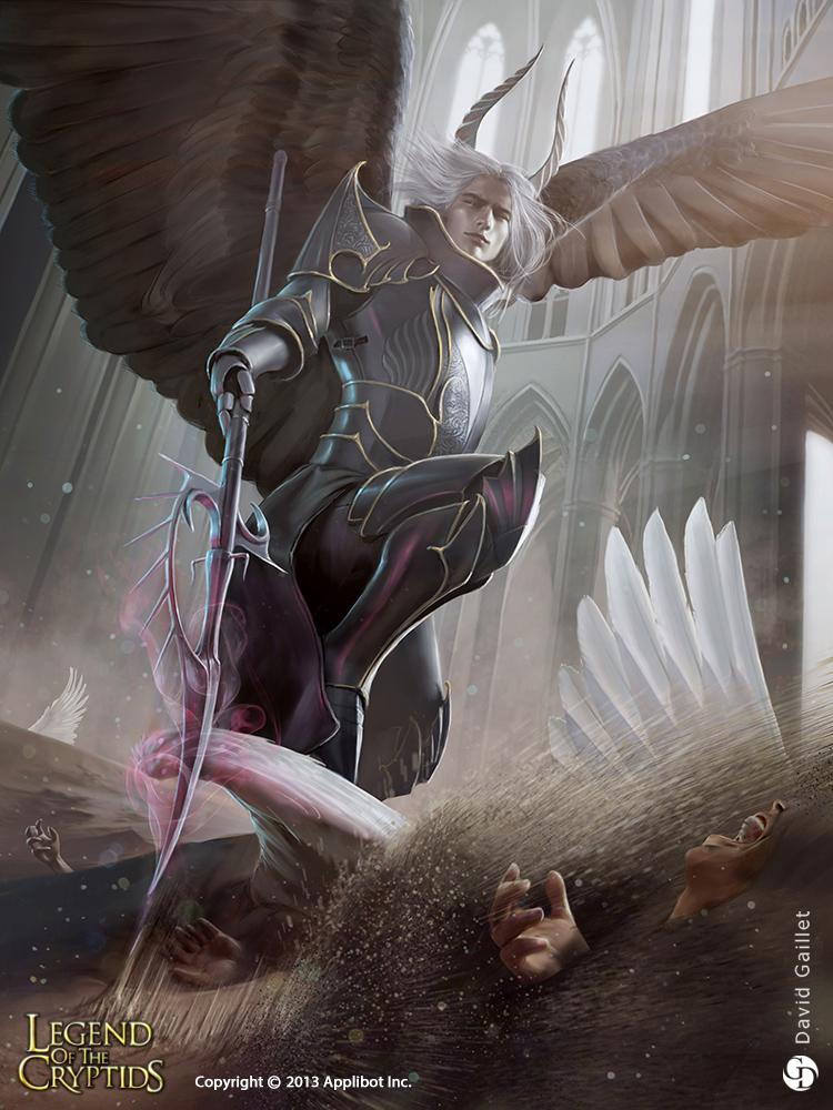 Proud Fallen Angel Alukiel - adv by DavidGaillet