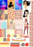 Pocahontas - Stickers Imprimibles
