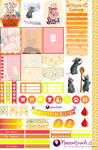 Ratatouille - Stickers for Planners