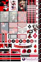 Harley Quinn - Free Printable Stickers