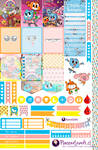 Amazing World of Gumball Free Printable Stickers