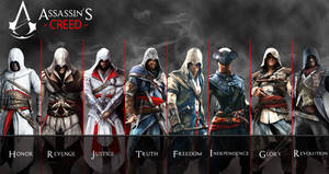 Altair to Arno Assassin's Creed Revolution