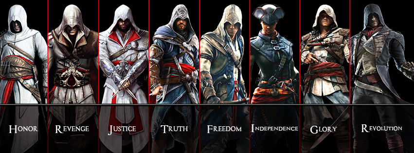 Assassin S Creed Unity Facebook Cover By Akniazi On Deviantart