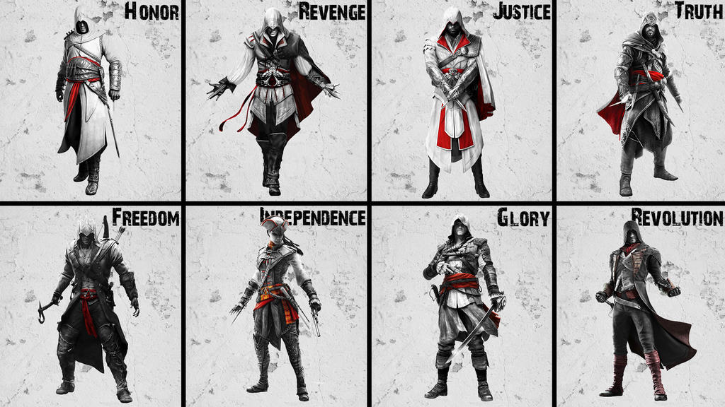 Assassin S Creed All Assassin S By Akniazi On Deviantart