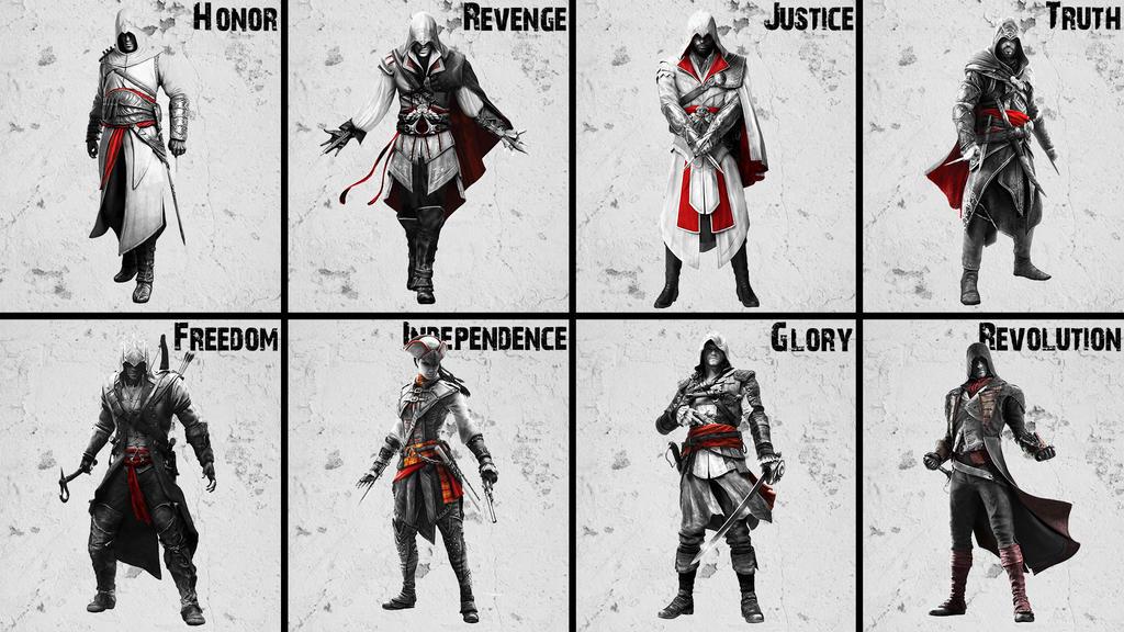 Assassin S Creed All Assassin S By Akniazi On Deviantart