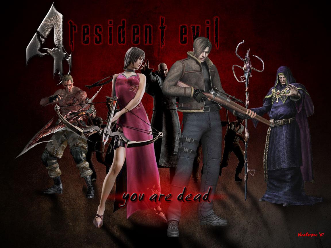 Resident Evil 4 Wallpaper By Nightwingdragon On Deviantart