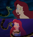 (request) Kaa And Ariel