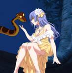 Kaa Hypnotizes Miku Izayoi