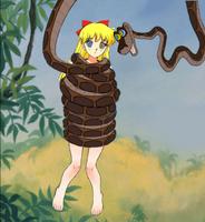 Kaa Hypnotizes Minako Aino 2 (sailor Venus)