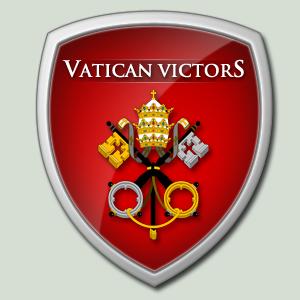 Vatican Victors Logo by mukundnadkarni
