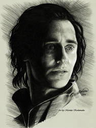 Loki Tom Hiddleston by KerdzevadzeART