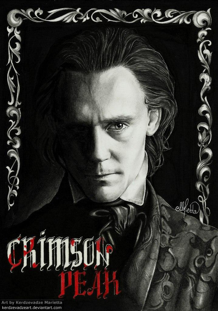 Tom Hiddleston by KerdzevadzeART