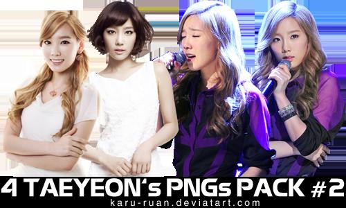 TaeYeon PNG Pack #2 by karu-ruan