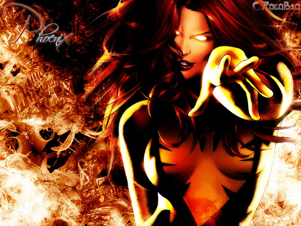 Xmen: Phoenix Background by rolobio