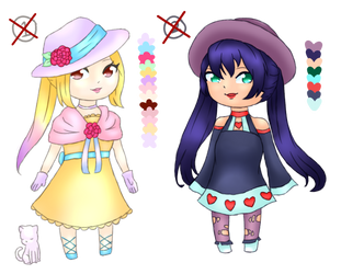 Little Ladies NYP Point Adopts (CLOSED) by FrozenDiamond267