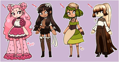 Dessert Flavors Point Adopts [CLOSED] by FrozenDiamond267