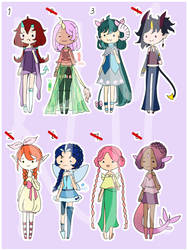 Doodle Point Adopts [OPEN 1/8] by FrozenDiamond267