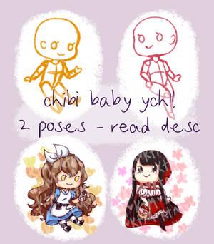 chibi baby ych [open] [read desc]