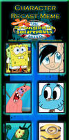 spogebob movie (brick style) cast
