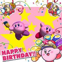 Happy 27th birthday, Kirby by MetaMirby