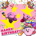 Happy 27th birthday, Kirby