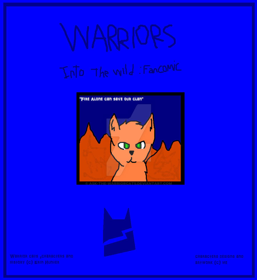Warrior Cats: Into The Wild Fan Comic, Cover By Ask-The