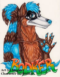 Bodker Conbadge by Magelet