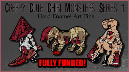 REMINDER- Silent Hill Inspired Monster Pin KS by Magelet