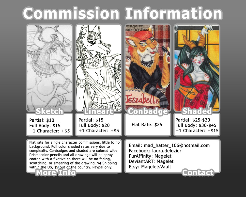 Commission Info 2019 by Magelet
