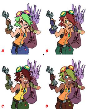I Got Your Back! (color tests)