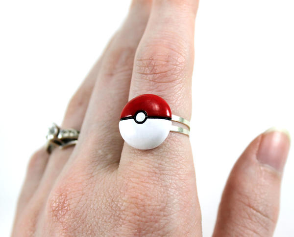 Pokeball Ring by Panduhmonium