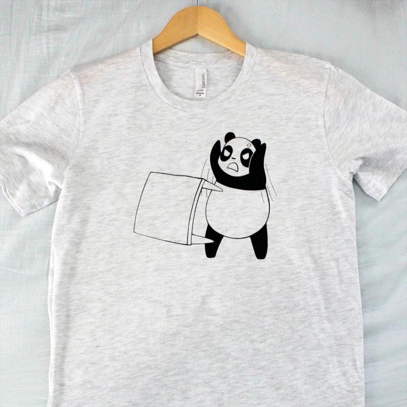 Panda Table Flip Shirt by Panduhmonium