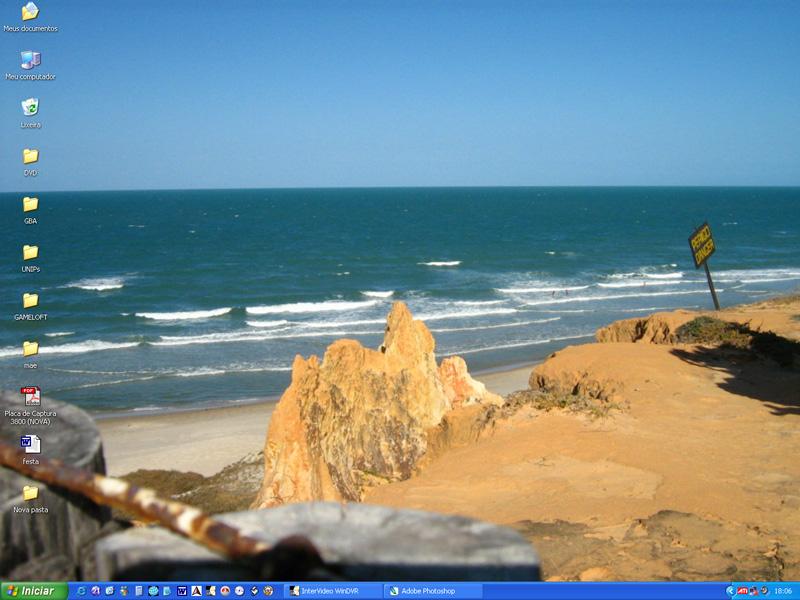 Desktop: Praia das Fontes by odairjr