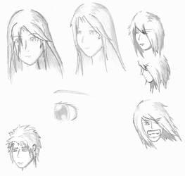Random heads.