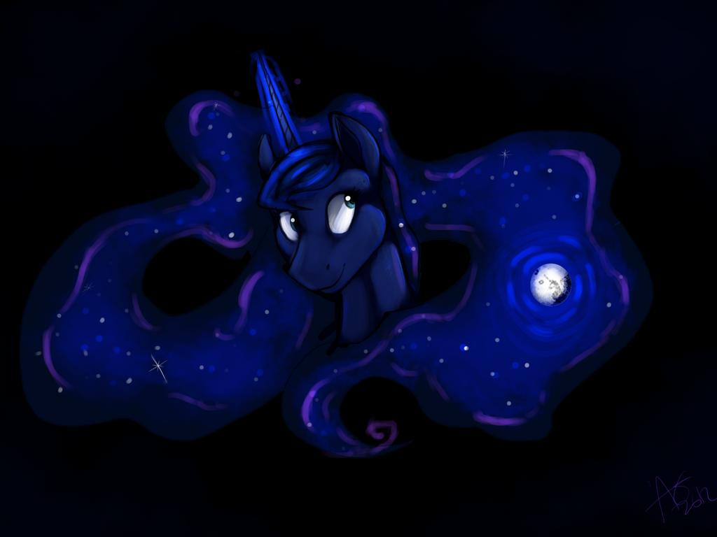 Luna's Mane by Baisre
