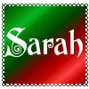 Sarah's Christmas Stamp by MzKitty45601