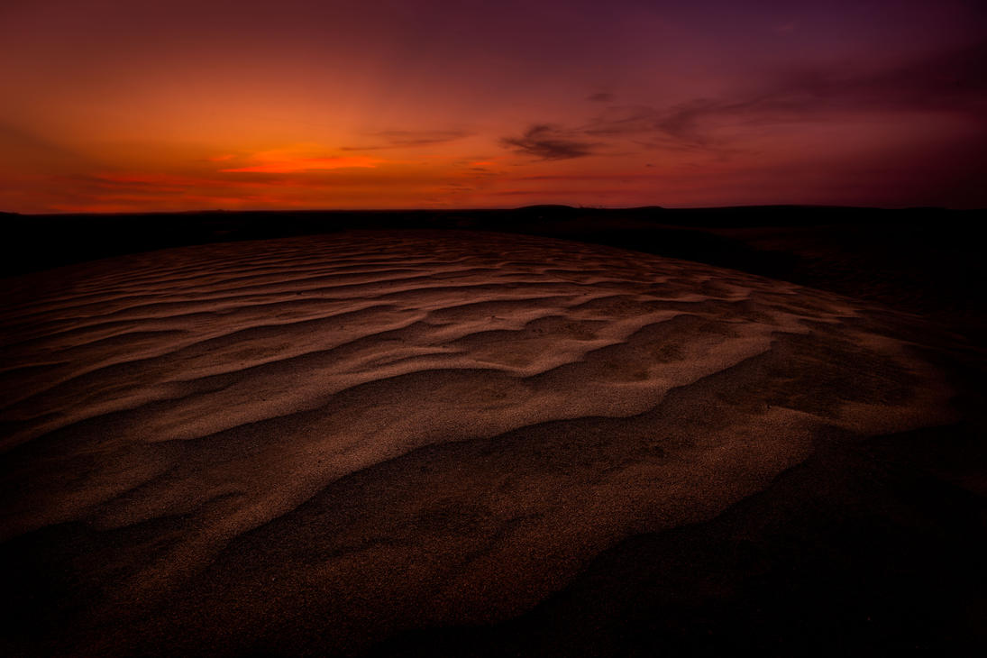 Sunset on the Dunes by mhmalali