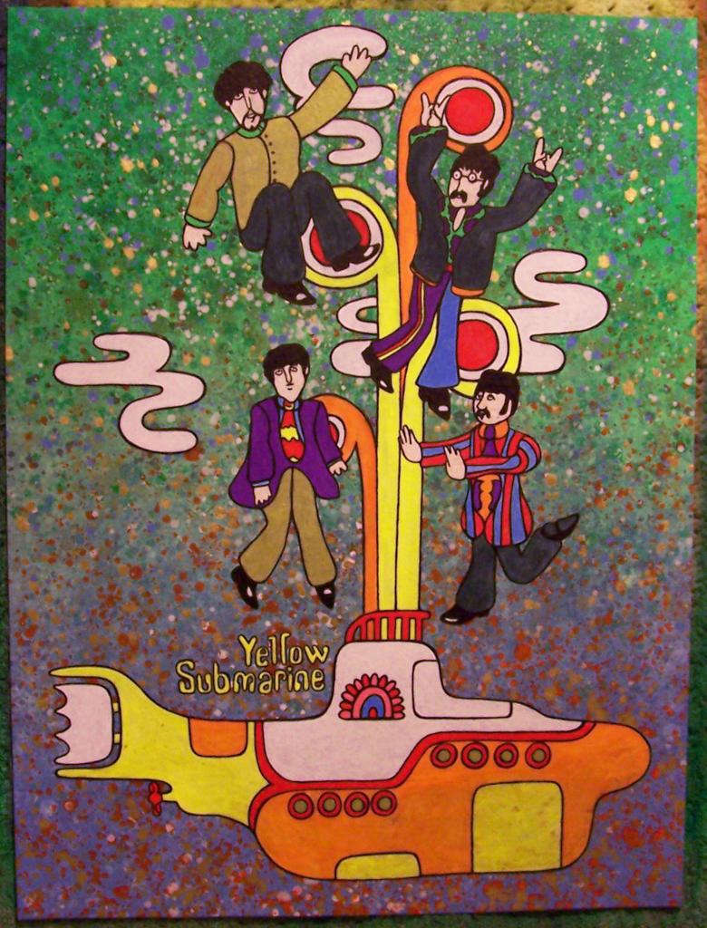 Yellow Submarine by daisymcqueen.deviantart.com on