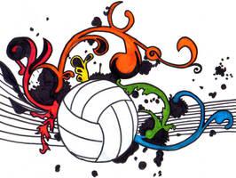 Volleyball by XTeodoraCristinaX