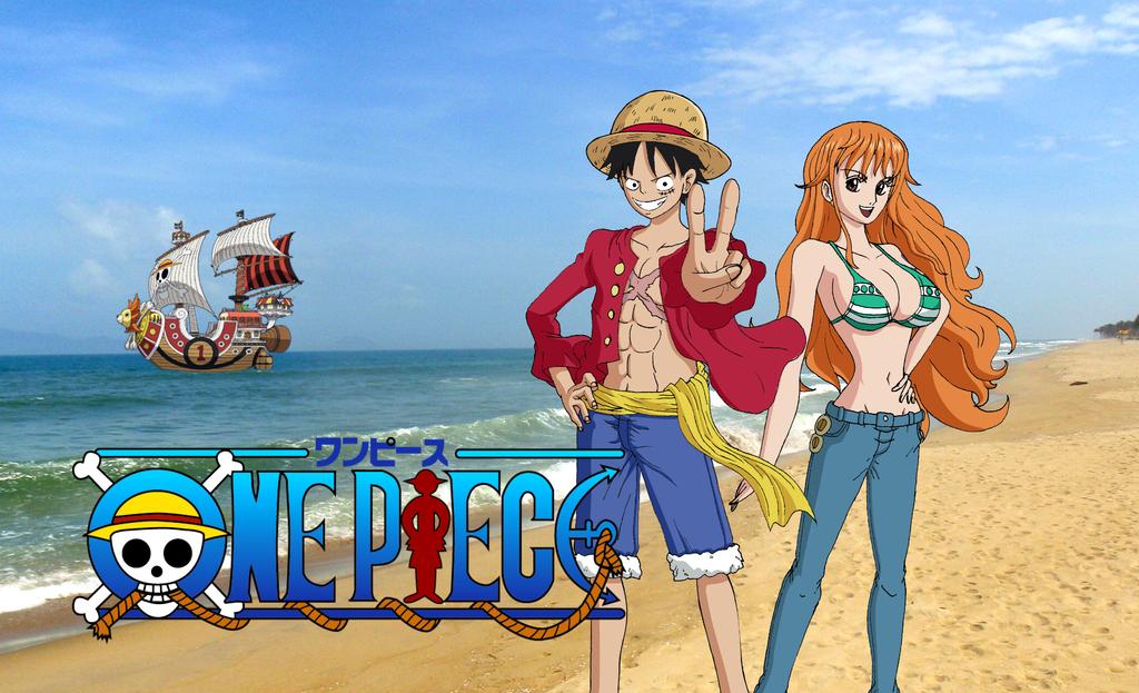 One Piece Luffy Nami By Teejee67 On DeviantArt