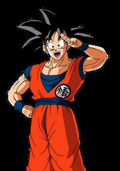 Son Goku Artwork JAZ5 2019