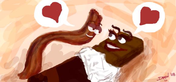 Bacon + Chocolate by DrewGill
