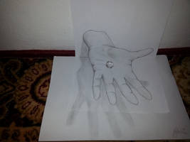 3D Hand by Kerle3