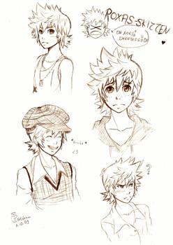 Roxas Sketches 1