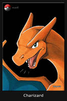 #006 Charizard by The-Art-of-Nyhgault