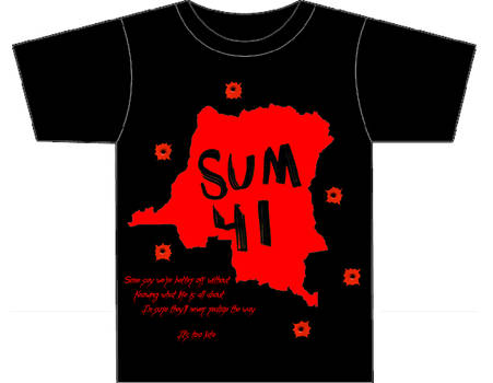 Sum 41 'Some Say' T-shirt