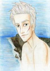 Luke Castellan colored by Dinoralp